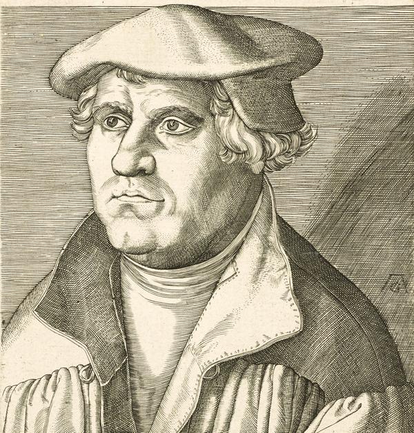 Martin Luther  Det kongelige bibliotek DK