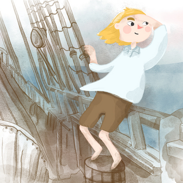 Båtsman på skeppet Vasa